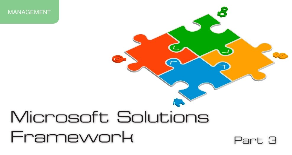 Microsoft Solutions Framework, part 3. Management Model, Directions, Checkpoints
