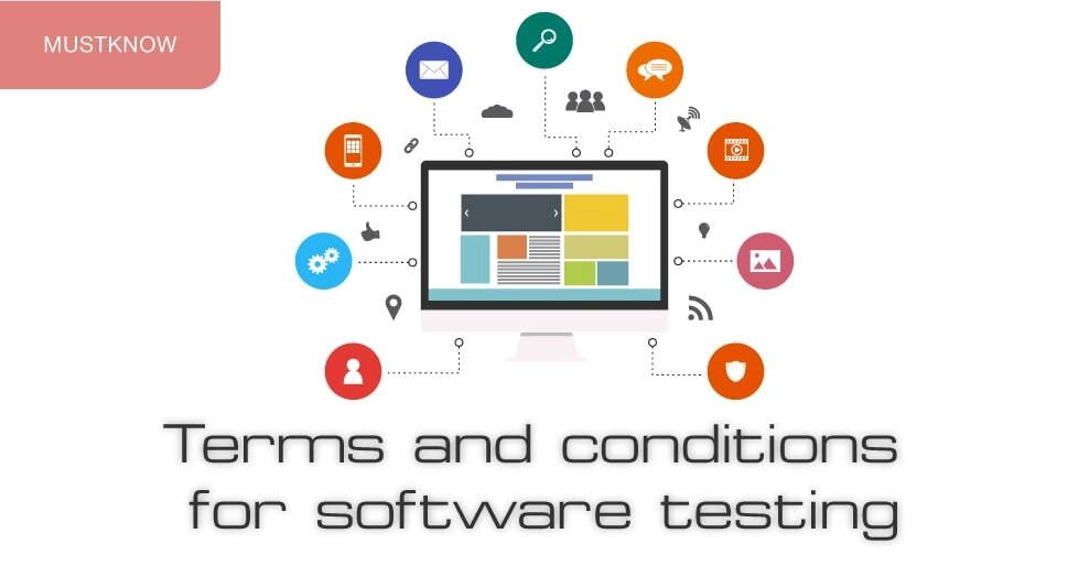 Terms and conditions for software testing