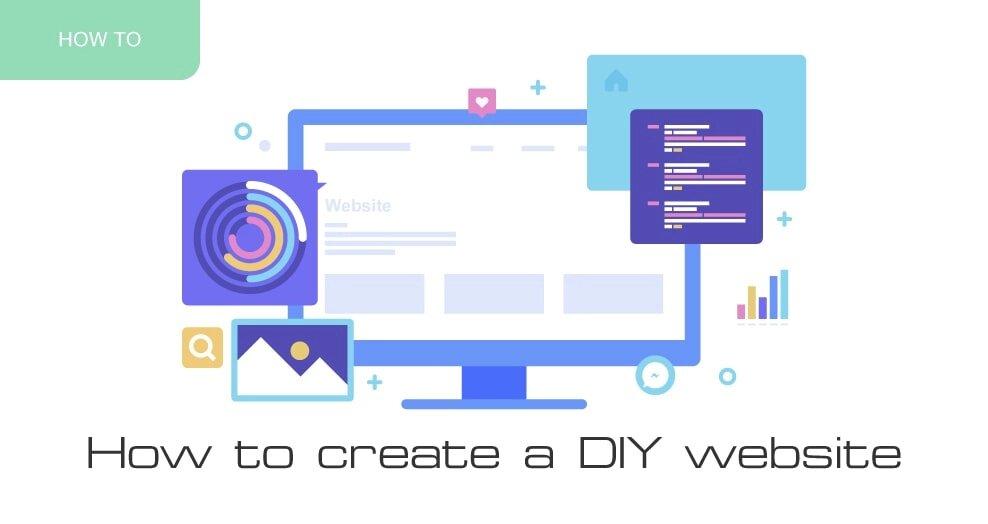 How to create a DIY website
