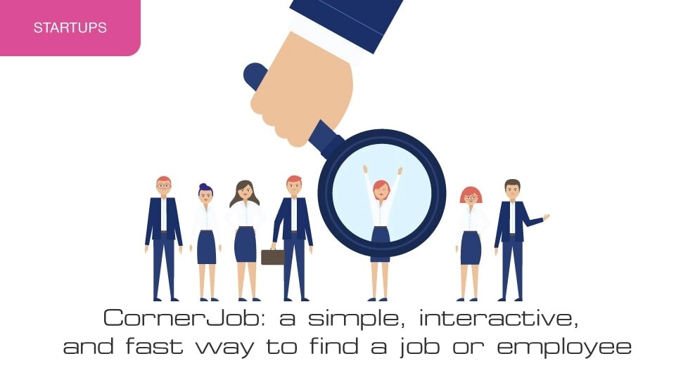 CornerJob: a simple, interactive and fast way to find a job or employee
