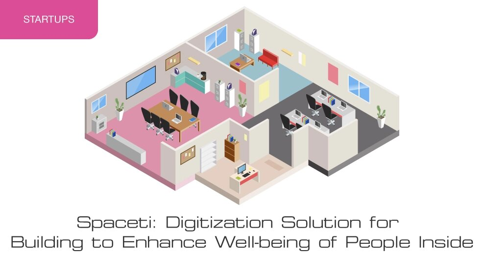 Spaceti: digitization solution for building to enhance well-being of people inside