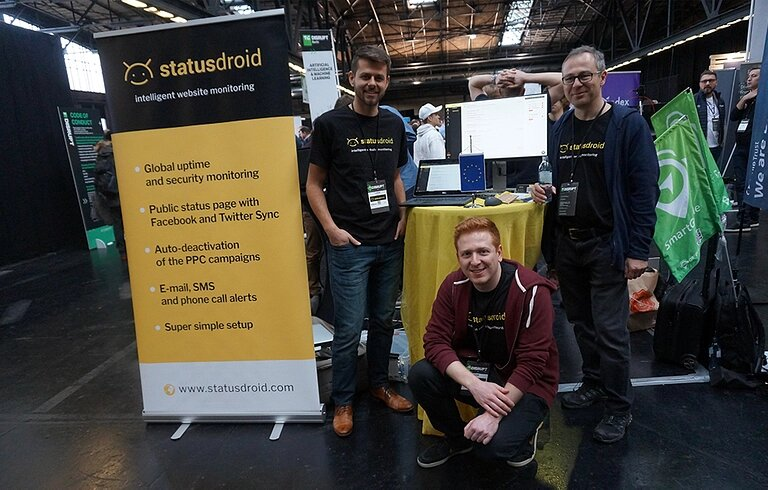 Statusdroid: AI-powered website monitoring solution. Make sure your website is ok