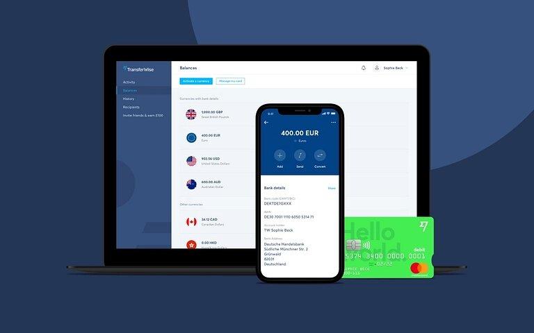 TransferWise app